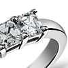 Classic Asscher Cut Five Stone Diamond Ring in Platinum (1 ct. tw.)