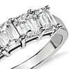 Brilliant Emerald Cut Five-Stone Diamond Ring in Platinum (2.00 ct. tw.)
