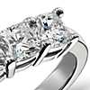 Classic Cushion Cut Five Stone Diamond Ring in Platinum (1.50 ct. tw.)
