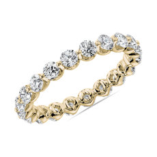 NEW Floating Diamond Eternity Band in 14k Yellow Gold (1.5 ct. tw.)