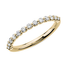 Floating Diamond Wedding Ring in 14k Yellow Gold (1/3 ct. tw.)