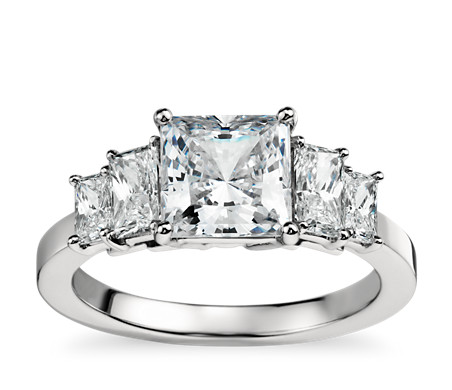 stone cut kings luxury ring square engagement shaped h diamond ct center rings cushion nice