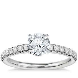 has matching band - Build Your Own Wedding Ring