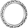 French Pavé Diamond Eternity Ring in Platinum (2 ct. tw.)