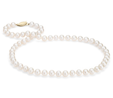 Blue Nile Freshwater Cultured Pearl Bracelet in 14k Yellow Gold (7.0-7.5mm) xJgQ5P1ffQ
