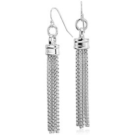 NEW Fringe Chandelier Box Chain Earrings in Sterling Silver