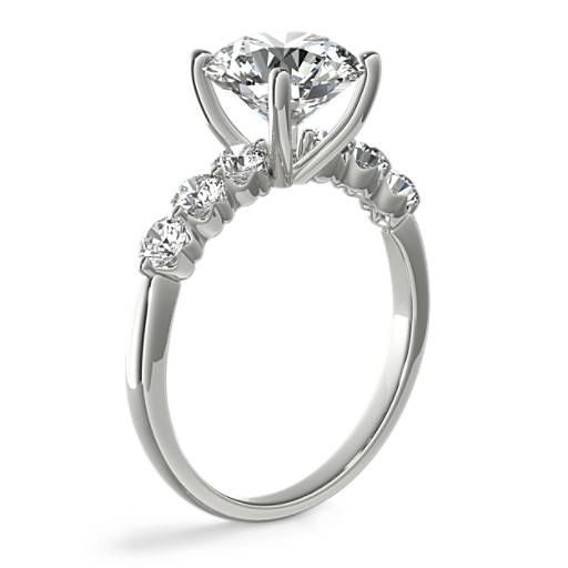 The Gallery Collection™ Floating Diamond Engagement Ring