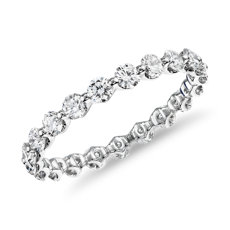 The Gallery Collection Floating Diamond Eternity Ring in Platinum (1 1/4ct. tw.)