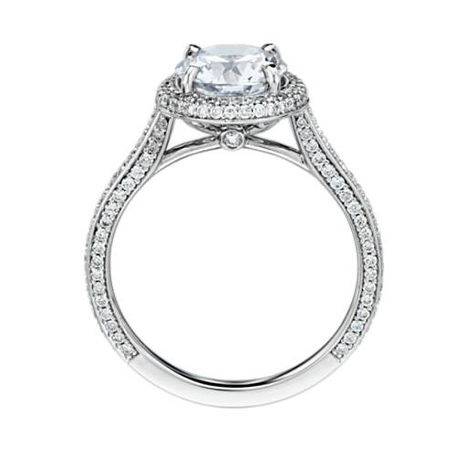 The Gallery Collection™ Halo Diamond Engagement Ring