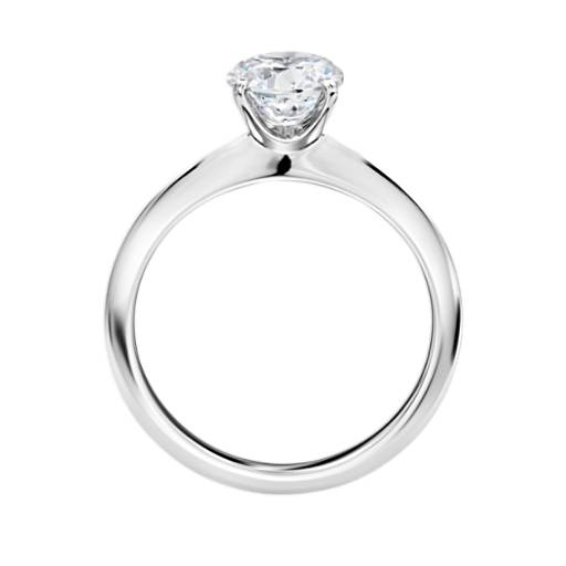 The Gallery Collection™ Knife Edge Solitaire Diamond Engagement Ring