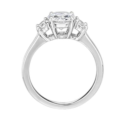 The Gallery Collection™ Oval-Cut Three-Stone Diamond Engagement Ring