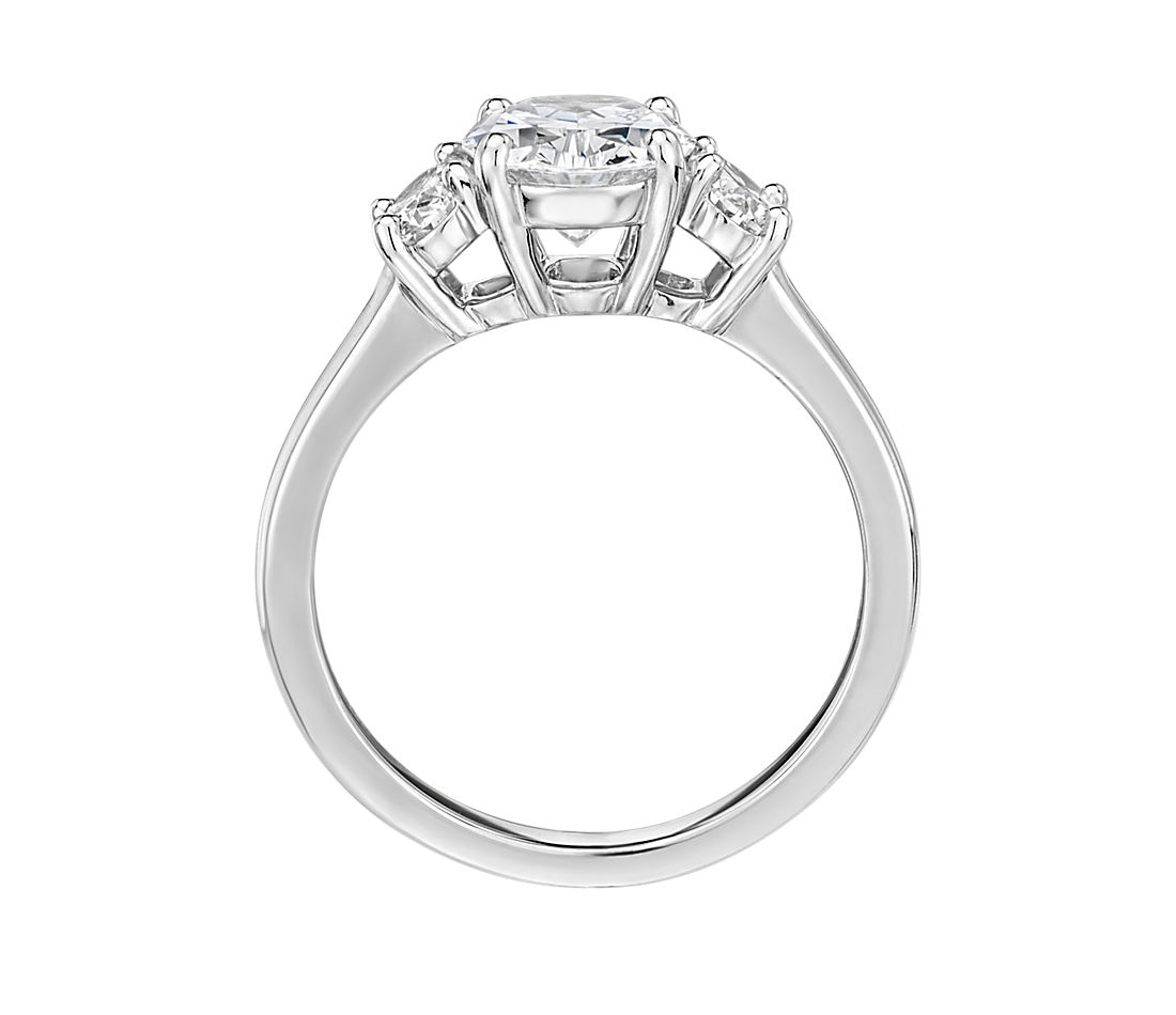 The Gallery Collection™ Oval-Cut Three-Stone Diamond