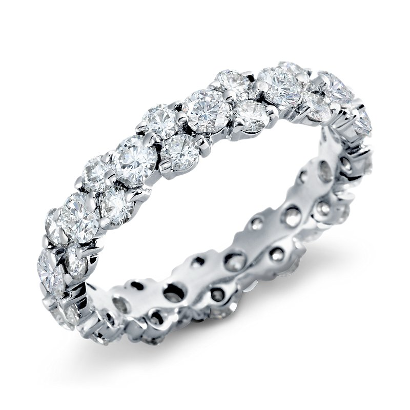 Garland Diamond Eternity Ring in Platinum (2.5 ct. tw.)