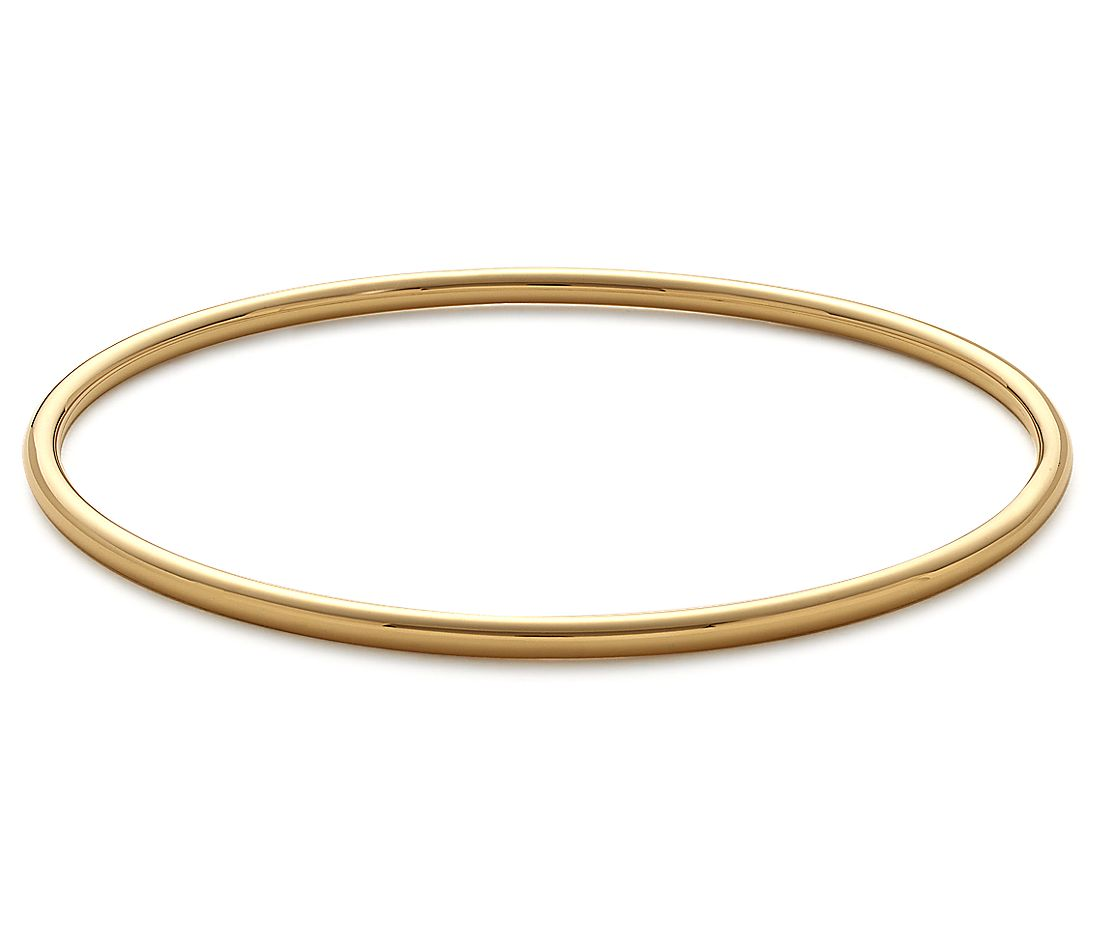 Bangle Bracelet In 18k Yellow Gold Blue Nile