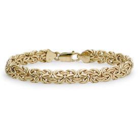 Bracelet byzantin en or jaune 18carats