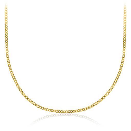 Gold necklaces chains pendants statement necklaces blue nile necklace aloadofball Images