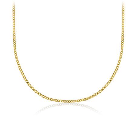 14k 黃金 纜繩鏈