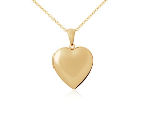 Blue Nile Sweetheart Locket in 14k Yellow Gold yUlNhH9p