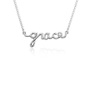 Collier « Grace » en argent sterling