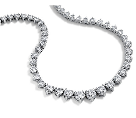 necklace victoria diamond tiffany platinum graduated co line
