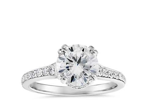 of jewelers bay area engagement halo flush fit top styles petite davidson rings ring licht