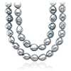 Gray Baroque Freshwater Cultured Pearl Necklace - 54