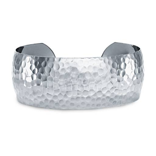 Minimalist Cuff Hammered Bracelet Sterling Silver Cuff Open Cuff Bangle Horizon Bracelet  Hammered Silver Bracelet Delicate Bracelet