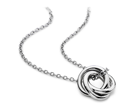 Infinity love knot pendant in sterling silver blue nile infinity love knot pendant in sterling silver aloadofball Choice Image
