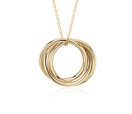 Interlock Rings Pendant