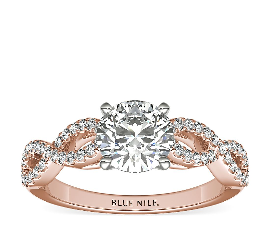 Rose Gold Engagement Ring Ideas For The Contemporary Bride