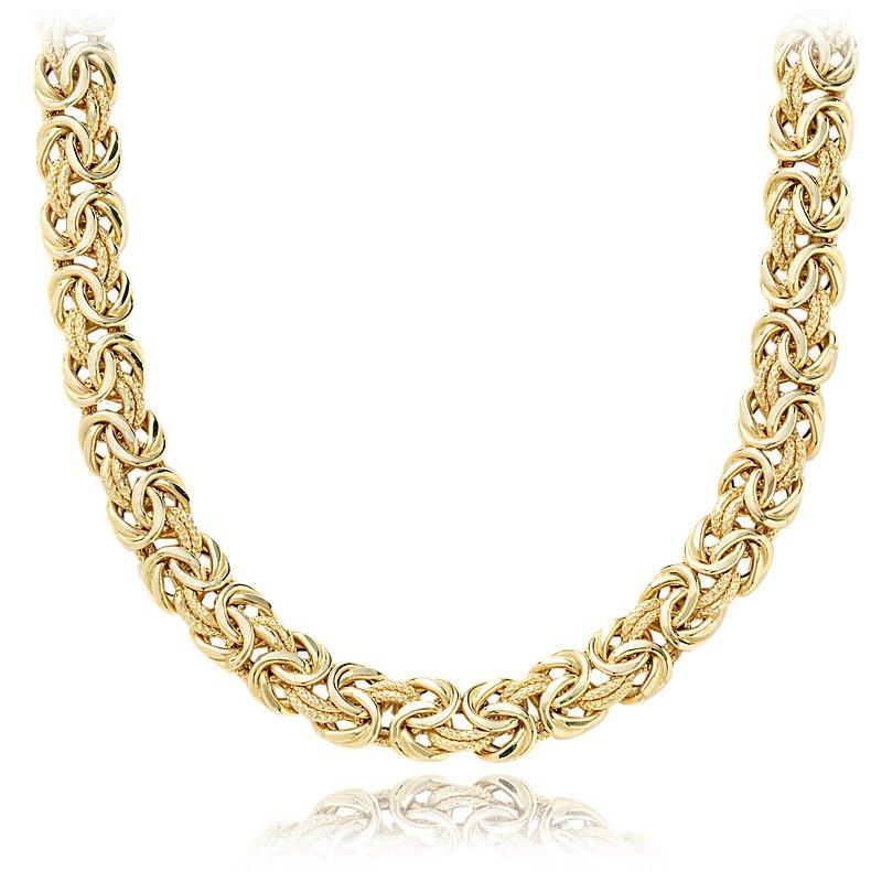 Byzantine Necklace in 18k Italian Yellow Gold