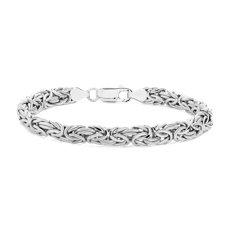 Byzantine Bracelet in Italian Sterling Silver