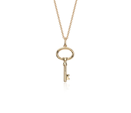 Blue Nile Childrens Cross Pendant in 14k Yellow Gold oqBQEGq3