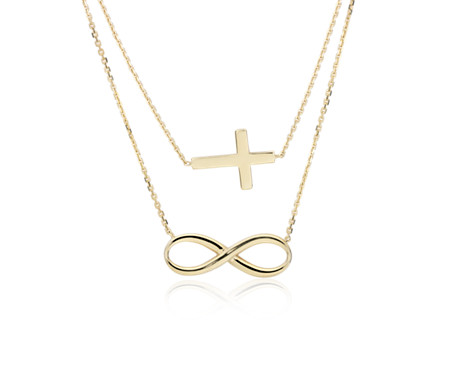 double yhtanaff infinity lariat cross jewelry style artfire necklace on pin revenge and