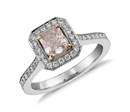 pink natural fancy tag design diamond light rare rings engagement certified gia ring