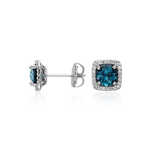 Blue Nile Diamond Stud Earrings K White Gold