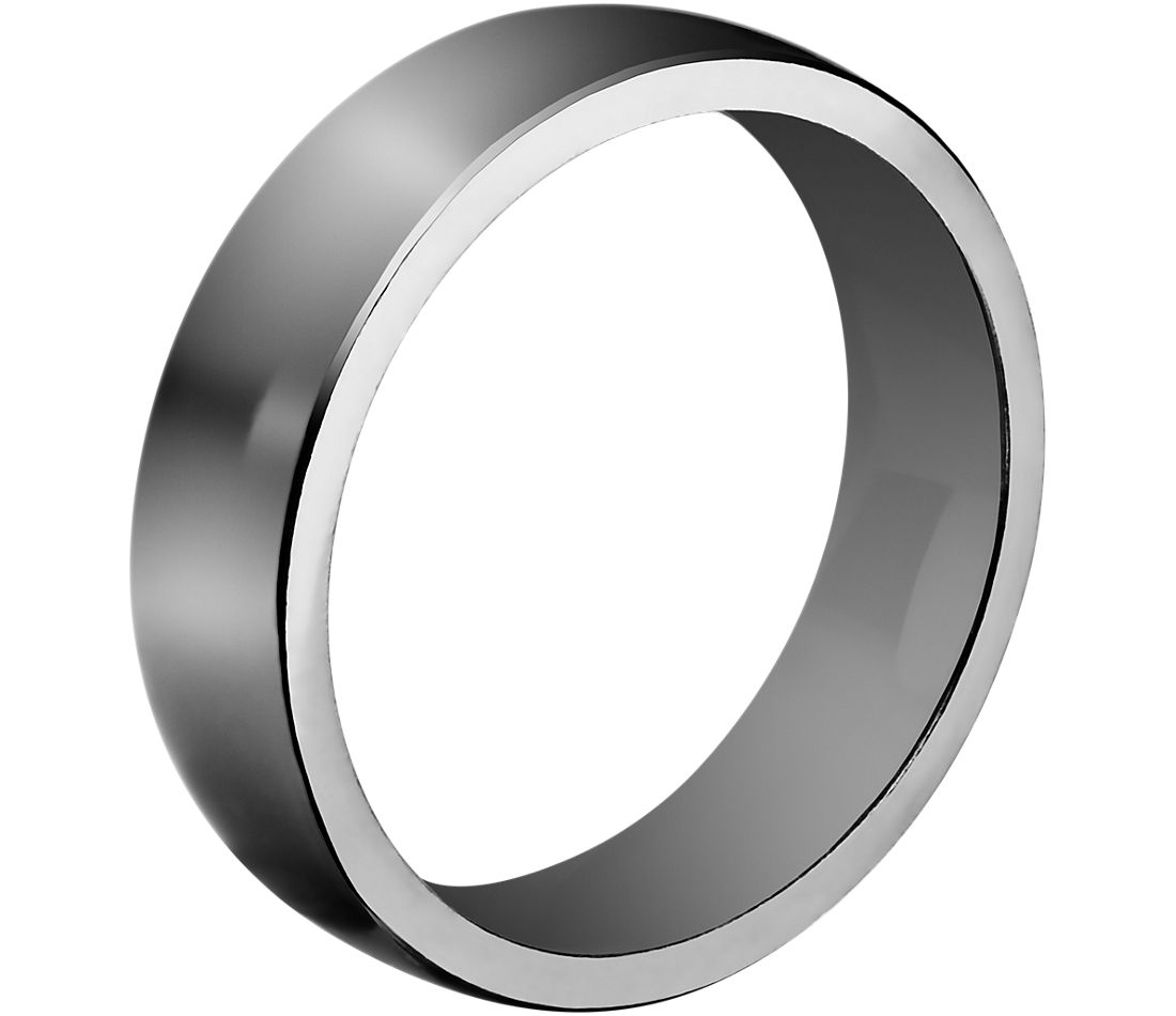 low dome comfort fit tantalum wedding ring Low Dome Comfort Fit Wedding Ring in Tantalum 6 5mm