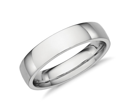 rings in platinum fit wedding s men mm mens comfort band milgrain