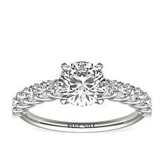 Luna Diamond Engagement Ring in Platinum (0.47 ct. tw.)