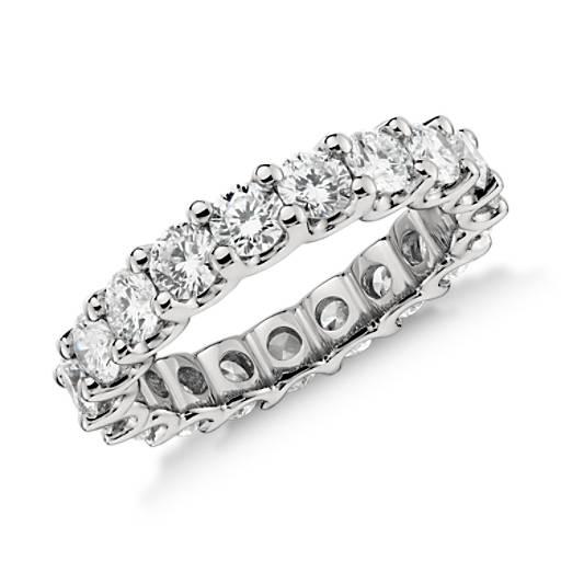 Diamond Eternity Platinum: Luna Diamond Eternity Ring In Platinum (3 Ct. Tw.)