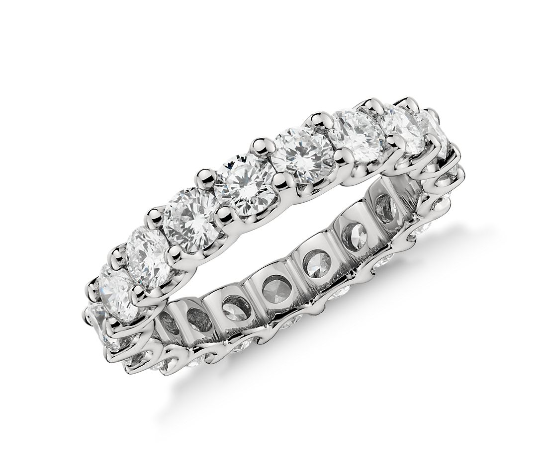 a37a92579d74a Luna Diamond Eternity Ring in Platinum (3 ct. tw.)