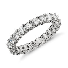 Luna Diamond Eternity Ring in Platinum
