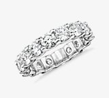 Luna Diamond Eternity Ring