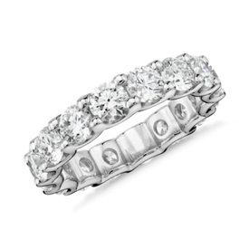 Luna Diamond Eternity Ring in Platinum (4 ct. tw.)