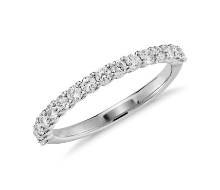 Luna Diamond Ring in 14k White Gold (1/3 ct. tw.)