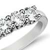 Luna Five Stone Diamond Ring in Platinum (1 ct tw)