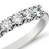 Luna Seven Stone Diamond Ring in 14k White Gold (1/2 ct. tw.)