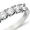 Luna Seven Stone Diamond Ring in 14k White Gold (1 ct. tw.)