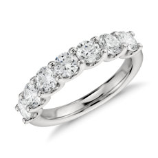 Luna Seven Stone Diamond Ring in Platinum (1 1/2 ct. tw.)