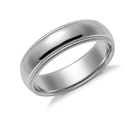 brushed mm women itm ring not band bands apply matte platinum rings fit mens wedding comfort does plain brush solid